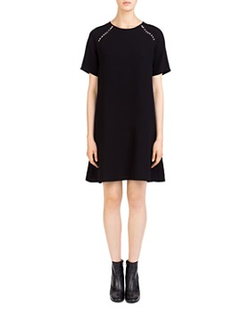 Gerard Darel - Agnes Faux-Pearl-Trim Shift Dress
