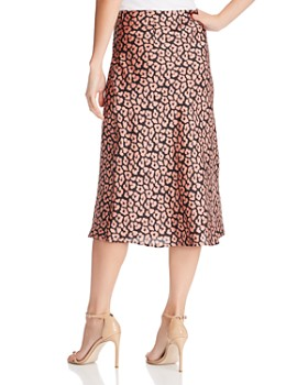 Cotton Candy LA - Leopard Print Midi Skirt