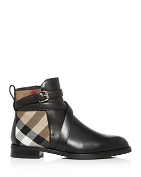 Burberry - Women's Vaughan Low-Heel Booties