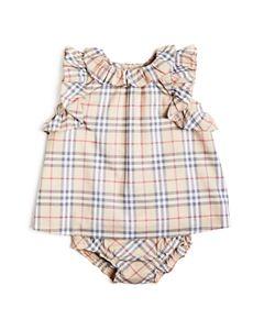 64b5b866d Burberry Girls' Ruby Vintage Check Skirt Dress - Baby | Bloomingdale's