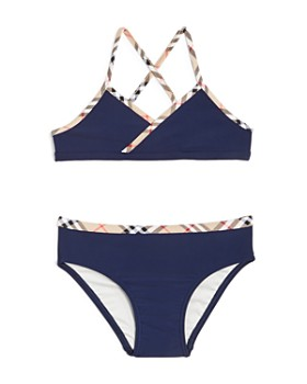 Burberry - Girls  Crosby 2-Piece Swimsuit - Little Kid 56b96a28bc58