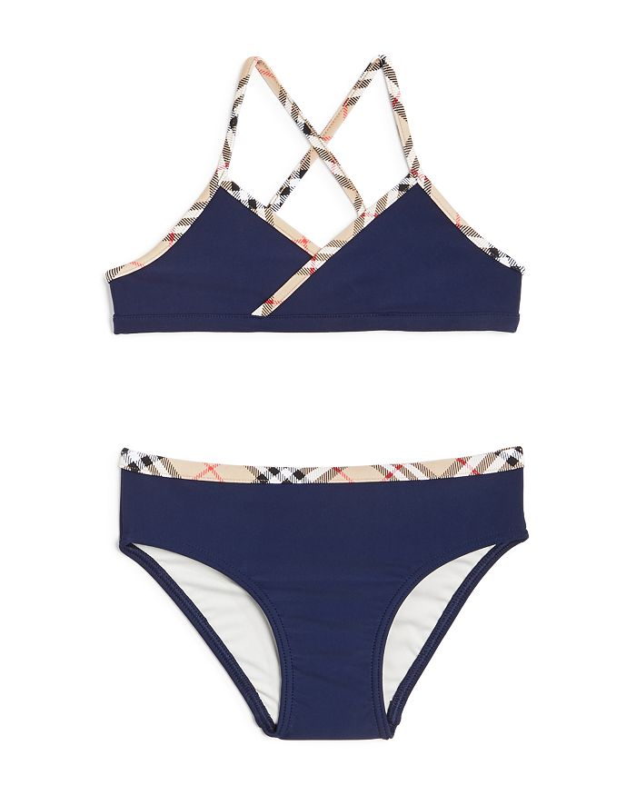 Burberry - Girls' Crosby 2-Piece Swimsuit - Little Kid, Big Kid