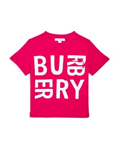 Burberry - Girls' Furgus Logo Tee - Little Kid, Big Kid