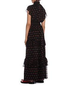 Scotch & Soda - Star Print Maxi Dress