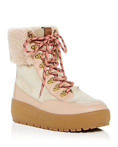 COACH - Women's Tyler Shearling Platform Boots