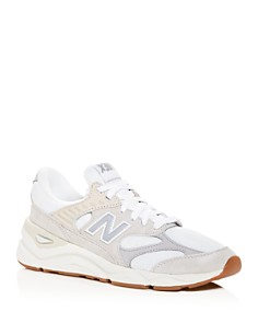New Balance - Men's X90R Suede Low-Top Sneakers