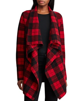 Ralph Lauren - Buffalo Check Wool Cardigan