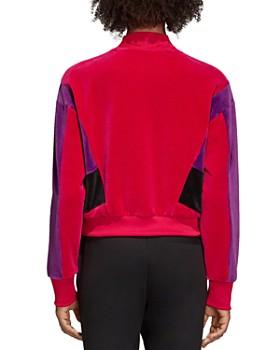 Adidas - Color-Block Velour Sweatshirt