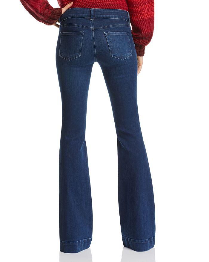 337638172e0b J Brand - Lovestory Flare Jeans in Nebula
