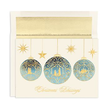 Masterpiece - Studios Christmas Blessings Holiday Cards, Box of 18
