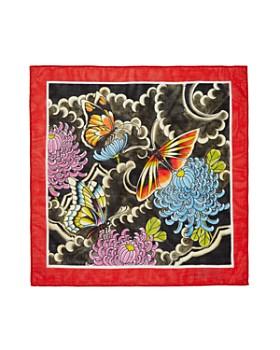 Massimo Alba - Butterfly-Print Handkerchief