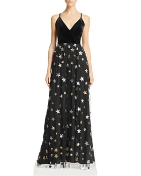 AQUA - Sequined Star Gown - 100% Exclusive
