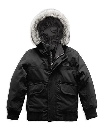 The North Face® - Boys' Gotham Down Jacket with Faux-Fur Trim - Little Kid