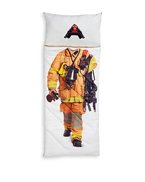Fao Schwarz Firefighter Sleeping Bag  Ages 5