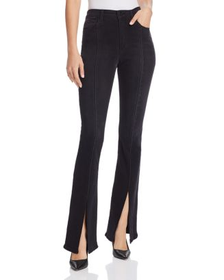 Slit Front Micro Flare Jeans In Olympia by Joe's Jeans