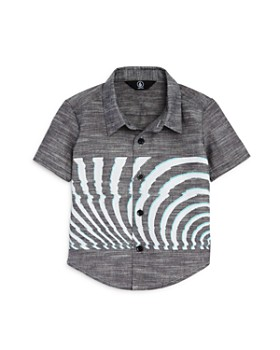 Volcom - Boys' Blocked Short Sleeve Shirt - Little Kid
