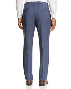 BOSS - Leenon Solid Wool Regular Fit Dress Pants