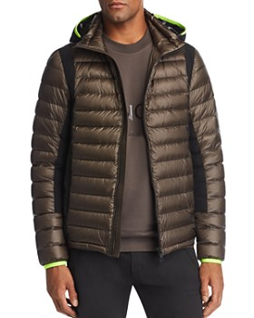 Moncler - Color-Block Down Hooded Puffer Jacket