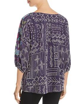 Johnny Was - Trista Embroidered Top
