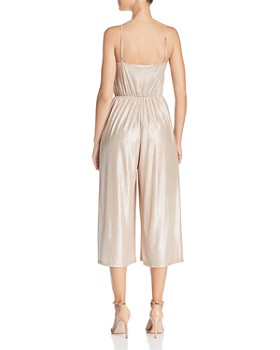 BB DAKOTA - Metallic Plissé Wide-Leg Jumpsuit - 100% Exclusive