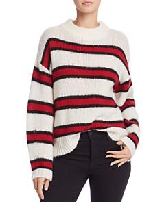 Rebecca Minkoff - Taylor Drop Shoulder Stripe Sweater