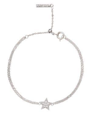 Celestial Star Chain Bracelet, Silver