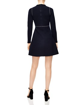 Sandro - Lune Embroidered Mini Dress