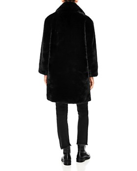 Sandro - Ballote Faux-Fur Teddy Coat