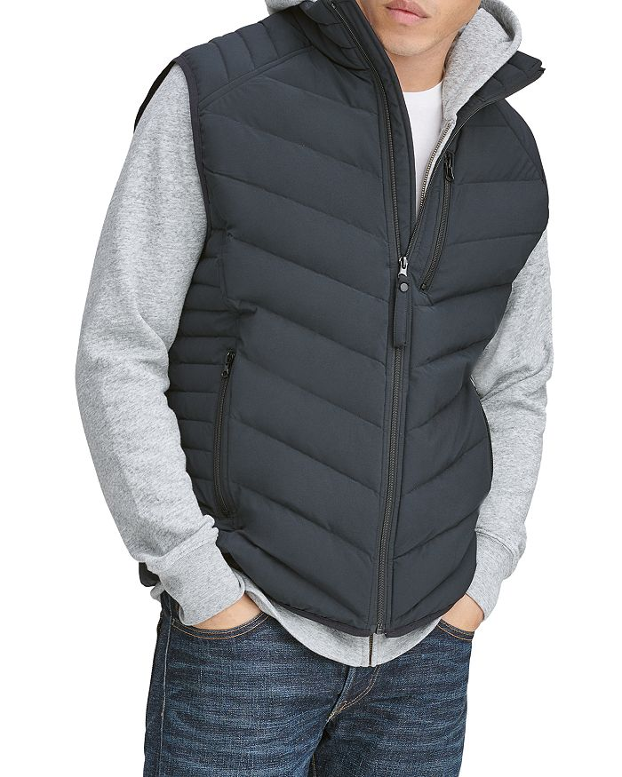 Marc New York WITHERS PACKABLE QUILTED DOWN VEST