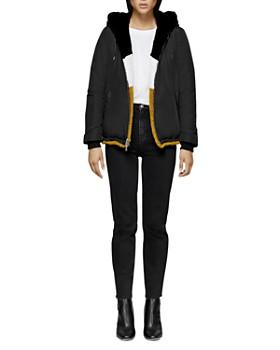 Mackage - Fabia Reversible Multicolored Fur Jacket