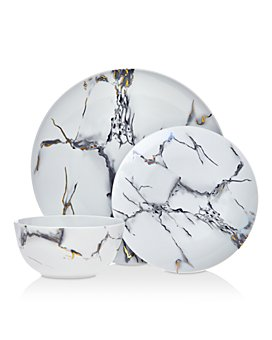 Godinger - Rayo 18-Piece Dinnerware Set - 100% Exclusive