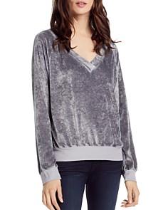 Michael Stars - Cropped Velvet Sweater