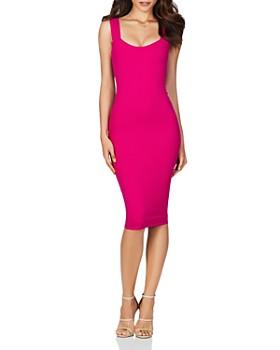 Nookie - Passion Scuba Midi Dress ... 4316fcb3f