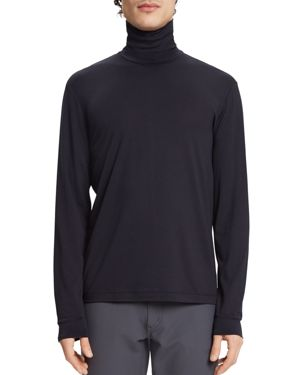 Theory Plaito Long-Sleeve Mock-Neck Tee