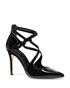 MICHAEL Michael Kors - Women's Catia Closed Toe Strappy Pumps