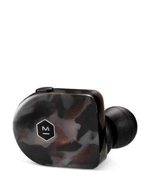 MASTER & DYNAMIC Mw07 True Wireless Earbuds in Gray Terrazzo