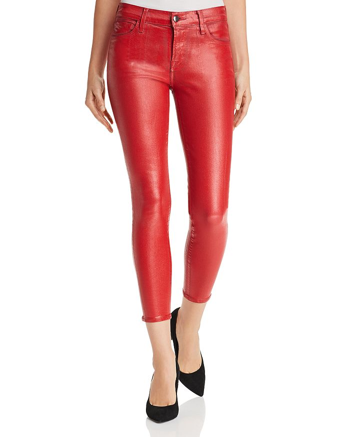 J Brand - 835 Coated Capri Skinny Jeans in Phenomena