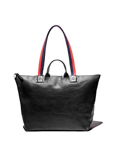 Clare V. - Le Zip Sac Rustic Leather Tote
