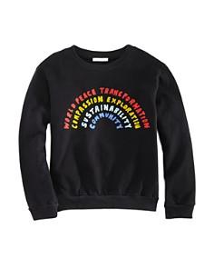 Michelle by Comune - Girls' Rainbow Sweatshirt, Little Kid, Big Kid - 100% Exclusive
