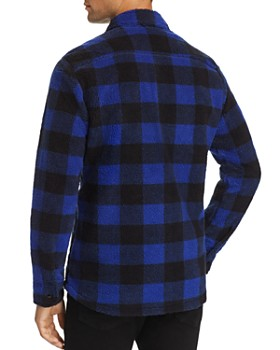 Levi's - Plaid Double-Faced Sherpa Shirt Jacket