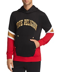 True Religion - Color-Block Hooded Active Sweatshirt