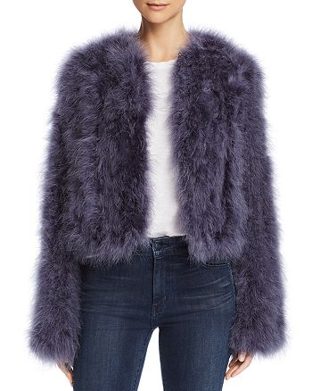 Rebecca Minkoff - Pacha Feather Jacket