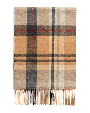 The Men's Store at Bloomingdale's Cashmere Big Plaid Scarf - 100% Exclusive