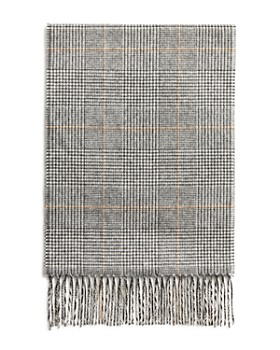2604c8112 The Men's Store at Bloomingdale's - Glen Plaid Cashmere Scarf - 100%  Exclusive