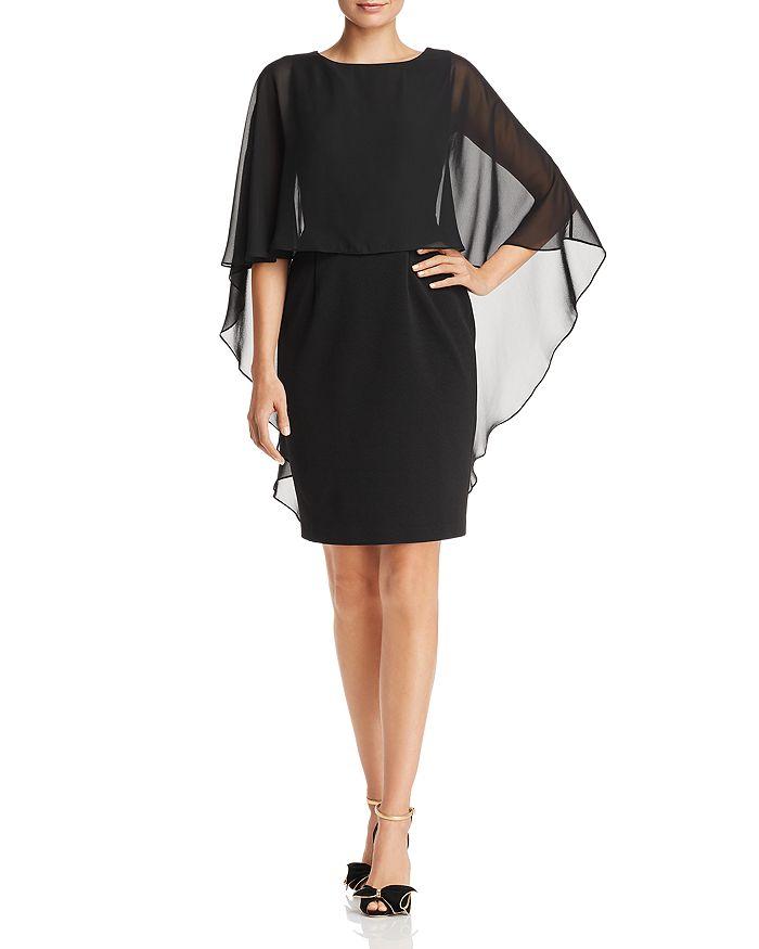 6bce20dab7aab Adrianna Papell Chiffon Overlay Dress | Bloomingdale's