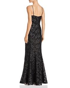Eliza J - Sequined Mermaid Gown