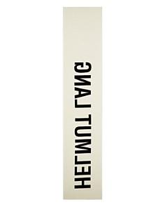 Helmut Lang - Large Logo Scarf
