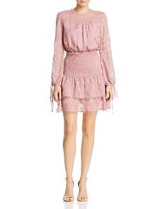 AQUA - Smocked Lace Dress - 100% Exclusive