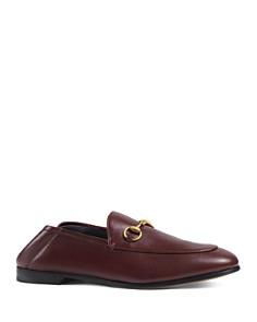 Gucci - Women's Apron-Toe Loafers