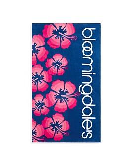 Bloomingdale's - Hibiscus Beach Towel - 100% Exclusive